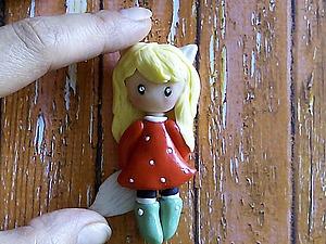 Видео мастер-класс: лепим милых куколок в стиле Сьюзен Вулкотт. Ярмарка Мастеров - ручная работа, handmade.