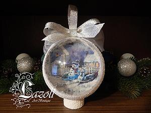 Новогодние шары на заказ! | Ярмарка Мастеров - ручная работа, handmade