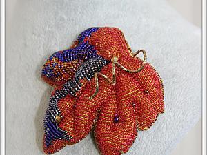 Новая работа моей ученицы, Анюты(Дубна) с МК по объёмной вышивке. | Ярмарка Мастеров - ручная работа, handmade