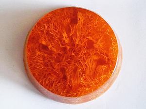 Антицеллюлитное апельсиновое мыло. Ярмарка Мастеров - ручная работа, handmade.
