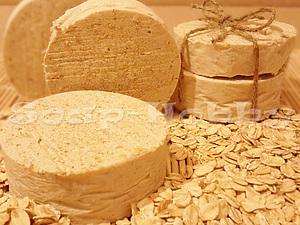 Мастер-класс: молочное мыло с нуля (ГС) с добавлением мёда и овсянки. | Ярмарка Мастеров - ручная работа, handmade