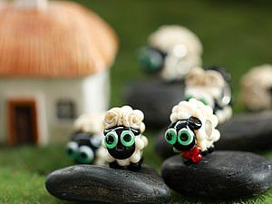Кому открытку с овечками?   Ярмарка Мастеров - ручная работа, handmade