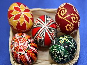 Писанки и другие традиционные методы раскрашевания яиц. | Ярмарка Мастеров - ручная работа, handmade
