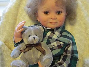 Малыш Корней-куклы реборн Инны Богдановой.   Ярмарка Мастеров - ручная работа, handmade