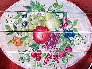 Роспись и обновление старого стола . | Ярмарка Мастеров - ручная работа, handmade
