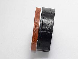 Создаем эксклюзивный «Рунический браслет» из кожи крокодила. Ярмарка Мастеров - ручная работа, handmade.