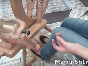 Осваиваем технику бокового секционного прядения. Ярмарка Мастеров - ручная работа, handmade.