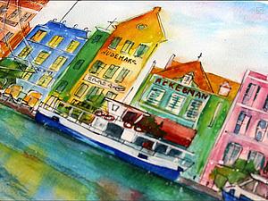 Моя работа Амстердам будет сегодня на главной. Ура!!! | Ярмарка Мастеров - ручная работа, handmade