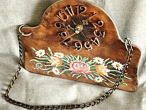 Мастер-класс: часы в стиле «шале». Ярмарка Мастеров - ручная работа, handmade.