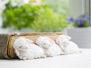 Брошки-овечки снова есть в продаже!   Ярмарка Мастеров - ручная работа, handmade