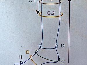 Снятие мерок с ноги для изготовления обуви | Ярмарка Мастеров - ручная работа, handmade