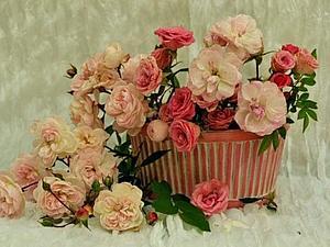 Ах, как же нежно пахли розы...   Ярмарка Мастеров - ручная работа, handmade