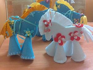 МК ёлочная игрушка &#8211&#x3B; сувенир Лошадка 7 шагов за 30 минут. Ярмарка Мастеров - ручная работа, handmade.