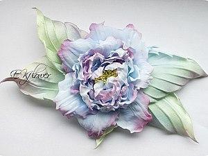 Шелковая флористики. Роза