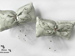 Видео мастер-класс: шьем заколку «Бабочка». Ярмарка Мастеров - ручная работа, handmade.