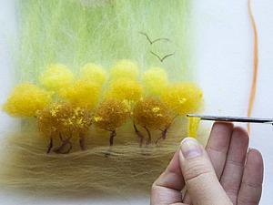 Шерстяное творчество как Арт-терапия | Ярмарка Мастеров - ручная работа, handmade
