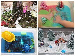 Творим с детьми: сенсорные коробки для детских игр | Ярмарка Мастеров - ручная работа, handmade
