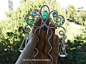 Мастер-класс: шпилька «Весы» в технике wire wrap. Ярмарка Мастеров - ручная работа, handmade.