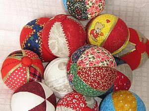 Шьем лоскутные мячики. Ярмарка Мастеров - ручная работа, handmade.