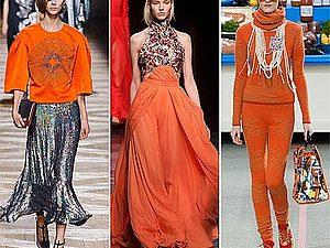 Какой   цвет   в   моде   в   2015   году: Оранжевая фантазия | Ярмарка Мастеров - ручная работа, handmade