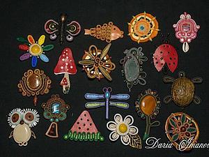 Брошки от волшебных рук | Ярмарка Мастеров - ручная работа, handmade