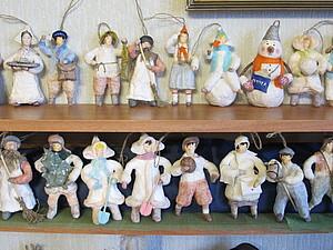 Продажа ватных и папье- маше елочных игрушек из коллекции 2013 | Ярмарка Мастеров - ручная работа, handmade