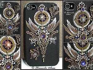 Стимпанк чехол на телефон, чехол в стиле стимпанк/Steampunk | Ярмарка Мастеров - ручная работа, handmade