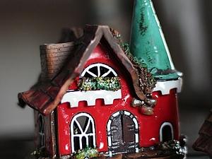 Рождественские домики керамика. | Ярмарка Мастеров - ручная работа, handmade