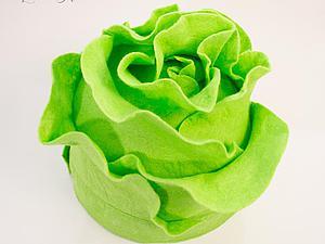Шьем шапочку-капусту для детского капустника. Ярмарка Мастеров - ручная работа, handmade.