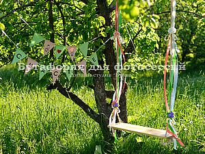 Новые изделия! Веревочные качели | Ярмарка Мастеров - ручная работа, handmade