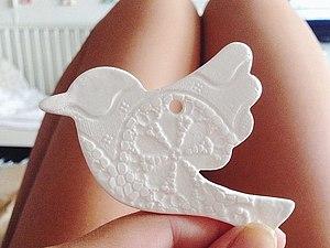 подвески-птички на благотворительность | Ярмарка Мастеров - ручная работа, handmade