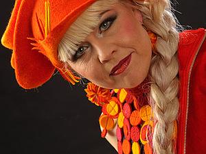 Элина Саари - войлочный фейерверк! | Ярмарка Мастеров - ручная работа, handmade