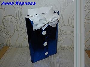 Видео мастер-класс. Упаковка книги в подарок мужчине.. Ярмарка Мастеров - ручная работа, handmade.