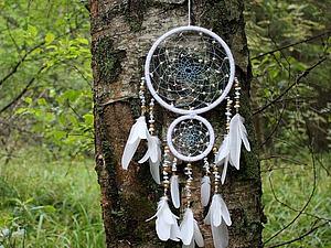 Составной индейский ловец снов своими руками. Ярмарка Мастеров - ручная работа, handmade.