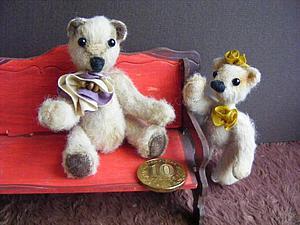 Мишки -малышки, Аделаида и Сесилия. | Ярмарка Мастеров - ручная работа, handmade