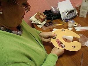 фотоотчет о мк по вышивке полного колье от 05.11 | Ярмарка Мастеров - ручная работа, handmade