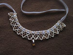 МК Ожерелье из бисера