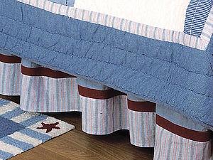Подзор — нарядная юбка для кровати. Ярмарка Мастеров - ручная работа, handmade.