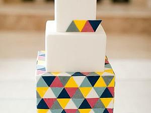 Геометрическая свадьба. Новый тренд 2013 года! | Ярмарка Мастеров - ручная работа, handmade