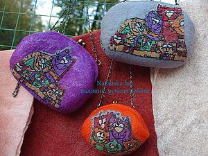 кото-сумчики разноцветные | Ярмарка Мастеров - ручная работа, handmade