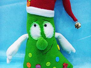 МК Новогодняя Ёлочка ( игрушка-сувенир). Ярмарка Мастеров - ручная работа, handmade.