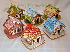 Наши пряничные домики на Первом канале!   Ярмарка Мастеров - ручная работа, handmade