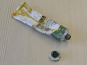 Делаем из пластика колпачок для тюбика с масляной краской. Ярмарка Мастеров - ручная работа, handmade.
