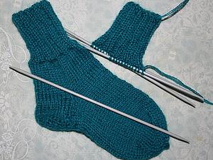 Мои первые носки | Ярмарка Мастеров - ручная работа, handmade