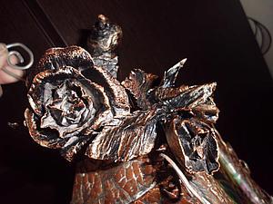 Делаем «кованую» розу из бумаги | Ярмарка Мастеров - ручная работа, handmade