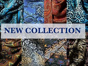 Новая коллекция теплых платков   Ярмарка Мастеров - ручная работа, handmade