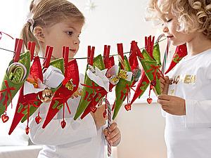 Адвент-календарь - в ожидании праздника!   Ярмарка Мастеров - ручная работа, handmade