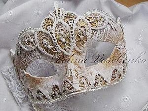 Карнавальная маска в венецианском стиле | Ярмарка Мастеров - ручная работа, handmade