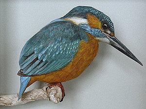 Бумажные, но как живые. Реалистичные фигурки птиц от Йохана Шерфта (Johan Scherft) | Ярмарка Мастеров - ручная работа, handmade