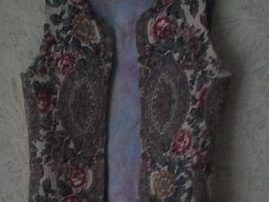 жилет для дочки   Ярмарка Мастеров - ручная работа, handmade